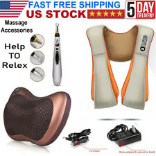 New ListingShiatsu Neck & Shoulder Massager with Heat Deep kneading Rolling massage soothes