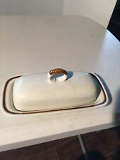 MOUNTAIN WOOD COLLECTION STONEWEAR JAPAN BUTTER DISH