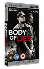 Body Of Lies (UMD, 2009)Leonardo DiCaprio Russell Crowe For PSP Brand New Sealed