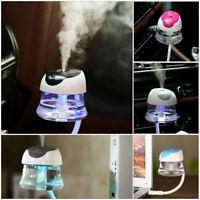 Portable Mini USB Car Freshener Essential Oil Diffuser Air Humidifier Purifier