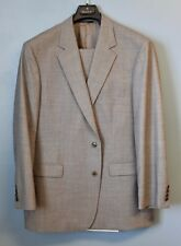 Brooks Brothers 346 Suit 45R Jacket Pants W 38 L 31 Grey 96% Wool 4% Lycra