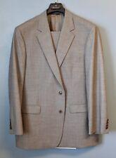Brooks Brothers 346 Suit 45R Jacket Pants W 38 L 31 Grey 96% Wool 4% Lycra