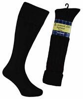 Mens 65% Wool Blend Traditional Long Hose Kilt Socks 6-11 AU.UK. 39-45 EUR