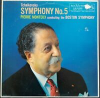 Tchaikovsky - Symphony No. 5, MONTEUX, BOSTON, RCA Red Seal LM 2239 MONO