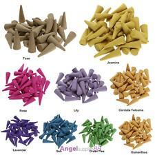 Natural Sandalwood Tea Fragrant Incense Backflow Grains Scent Cones Potpourri A