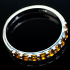 Citrine 925 Sterling Silver Ring Size 11 Ana Co Jewelry R21450
