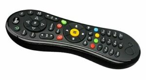 100% Genuine TiVo Remote Virgin Media WITH 2 X AA BATTERIES INCLUDED FOR OLD BOX