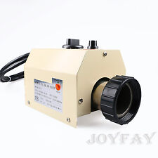 3KW 220V Swimming Pool & SPA Hot Tub Electric Water Heater Thermostat