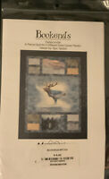 BOOKENDS Quilt Pattern for Panel Fabrics / Mountainpeek Creations 46.5 x 56.5