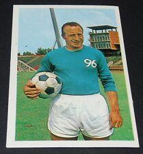 BUHTZ TRAINER HANNOVER 96 FUSSBALL 1966 1967 FOOTBALL CARD BUNDESLIGA PANINI