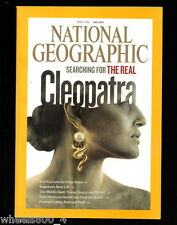 National Geographic July 2011 Cleopatra Polar Bears Baghdad Portugal Food MEAST