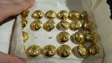 Unused Carded Civil War Repro Us Army Infantry Buttons Eagle with I in Shield