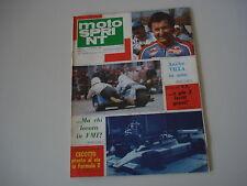 MOTOSPRINT 23/1980 PROVE MOTO GUZZI TT 1000 LE MANS VALENTINI/APRILIA MX 125 A