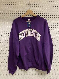 Vintage Northwestern University Purple Spellout Sweatshirt Crewneck