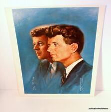 John F Kennedy - Robert F Kennedy Print - Alton Toby (16.5 in x 14 in)