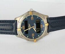 BREITLING AEROSPACE HERREN UHR F56062 TITAN/GOLD Mit PAPIEREN