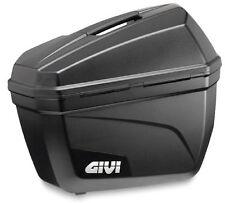 Paire de valises latéral de moto de motocross 22 litres Givi E22N noir