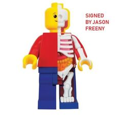 "Signed Jason Freeny Mighty JAXX Bigger Micro Anatomic Junior Edition 11"" Art Toy"