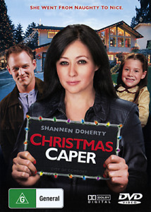 Shannen Doherty CHRISTMAS CAPER - INSPIRING FAMILY CHRISTMAS STORY DVD