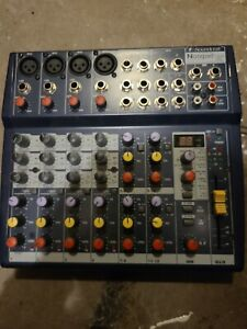 Soundcraft Notepad 124 3-Band EQ Analog Mixer (4 Mono / 4 Stereo) *Pre-owned