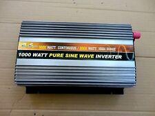 1000 Watt Pure Sine Wave Power Inverter 24V Dc-110/120V Ac-60Hz w/Dc Port, 2400W