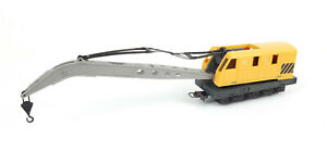 LIMA BREAKDOWN CRANE WITH WORKING BOOM GOOD COND UNBOXED HO GAUGE(WT)