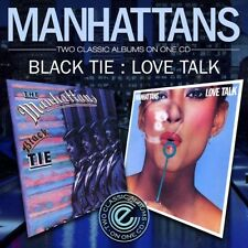 The Manhattans - Black Tie / Love Talk [New CD]