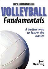 Volleyball Fundamentals (Sports Fundamentals) by Joel Dearing