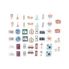 Lovely 45 Pcs/Box A Person's Travel Paper Stickers Diary Decor DIY Scrapbooking