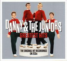 DANNY & THE JUNIORS - GREATEST HITS - ORIGINAL HIT RECORDINGS (NEW SEALED 2CD)