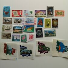 500 Different Norfolk Island Stamp Collection