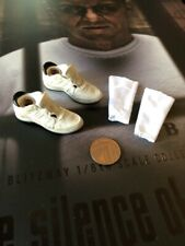 BLITZWAY Hannibal Lecter White Prison Ver Sneakers & Socks loose 1/6th scale