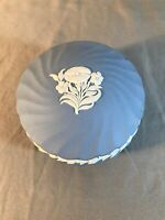 "Wedgwood Trinket Box Contemporary 4.5"" Diameter Excellent"