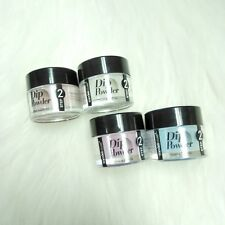 4 New Modelones Dip Powder Step 2 for Strengthening Natural Nail Tip, 10 ml