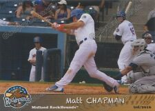2016 Midland RockHounds Matt Chapman RC Rookie Oakland Athletics