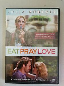 Eat Pray Love DVD Julia Roberts VGC