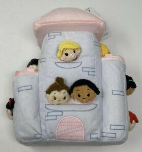 Disney Princess Tsum Tsum Plush Castle Set - 11 Micro Tsum Tsum Princesses