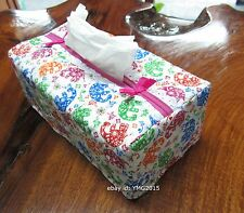 Naraya 2015-Tissues Box Cover cotton printed colorfull Thai elephant