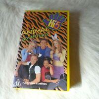 HI-5 ANIMAL ADVENTURES VHS Video Tape 2000 MUSIC Childrens show AUSTRALIA kids