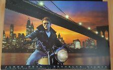 "JAMES DEAN Brooklyn Bridge Original 90's Poster 24x36"" RARE. Original Licensed"