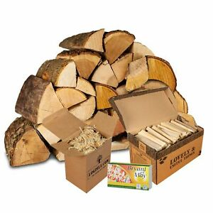 Fire Starter Kit. Kiln Dried Hardwood, Kindling, Firelighters and Matches.