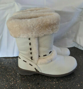 Women UGG Boots Oz Lamb Leather with Merino Wool Lining Sz 7 Fit like Size 5 1/2