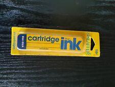 Sheaffer Skrip Ink Cartridges - Contains 6 - Blue - Black
