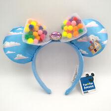 UP Grape Soda Cap Balloons Minnie Ears Disney Parks Rare Mickey Mouse Headband