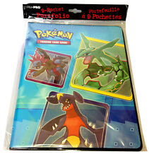 "Pokemon TCG: ""Series 6"" 9-Pocket Portfolio Trading Card Album Binder (Rayquaza)"