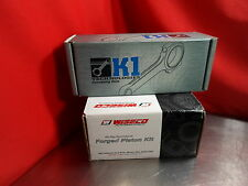 K1 Rods 016CA17146 Wiseco K651M865 Pistons for Hyundai Genesis G4KF Theta
