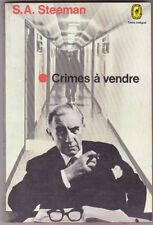 Crimes à vendre , S.A.STEEMAN