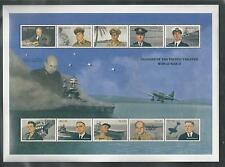 MALDIVES # 1583 MNH LEADERS OF THE PACIFIC THEATER, WW II, Miniature Sheet