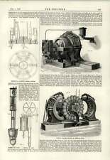 1889 Ferranti Alternator Exciter Removing Field Bobenreith Candle Changer