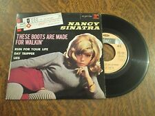 45 tours NANCY SINATRA these boots are made for walkin'